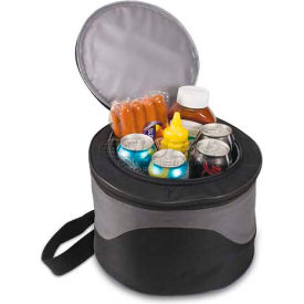 Picnic Time Caliente Portable Charcoal BBQ Grill with Cooler Tote