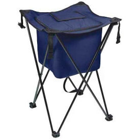 Picnic Time Sidekick Cooler with Stand, Navy