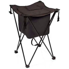 Picnic Time Sidekick Cooler with Stand, Black