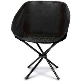 """Picnic Time Sling Chair 789-00-179-000-0, 19""""W X 5""""D X 5""""H, Black"""