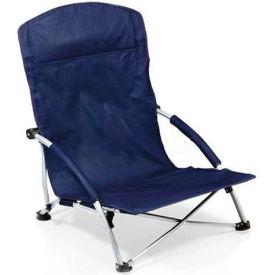"Picnic Time Tranquility Chair 792-00-138-000-0, 25.4""W X 21.7""D X 25.1""H, Navy"