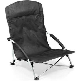 "Picnic Time Tranquility Chair 792-00-175-000-0, 25.4""W X 21.7""D X 25.1""H, Black"
