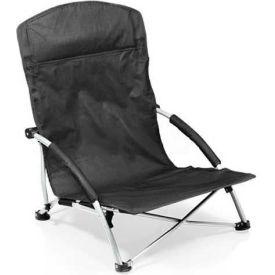 "Picnic Time Tranquility Chair 792-00-175-000-0, 25.4""W X 21.7""D X 25.1""H, Black"