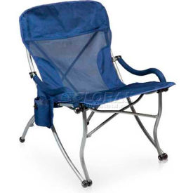 "Picnic Time PT-XL Camp Chair 793-00-138-000-0, 26""W X 31""D X 36""H, Navy"