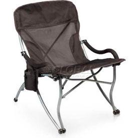"Picnic Time PT-XL Camp Chair 793-00-175-000-0, 26""W X 31""D X 36""H, Black"