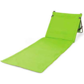 Picnic Time Beachcomber Beach & Picnic Mat with Backrest, Lime