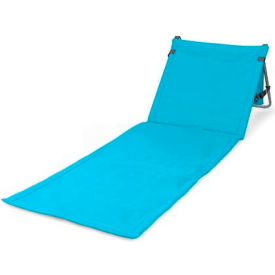 Picnic Time Beachcomber Beach & Picnic Mat with Backrest, Blue