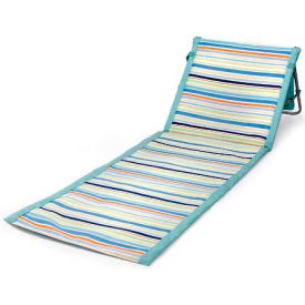 Picnic Time Beachcomber Beach & Picnic Mat with Backrest, St. Tropez