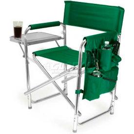 "Picnic Time Sports Chair 809-00-121-000-0, 19""W X 4.25""D X 33.25""H, Hunter"