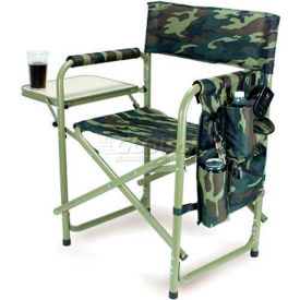 "Picnic Time Sports Chair 809-00-182-000-0, 19""W X 4.25""D X 33.25""H, Camouflage"