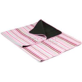 Picnic Time Blanket Tote, Pink Stripes