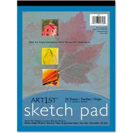 "Pacon® Art1st Sketch Pad 4746, 9"" x 12"", White, 50 Sheets/Pad"