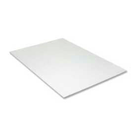 """Pacon® Value Foam Board, 20"""" x 30"""", 3/16"""" Thick, White, 10/Pack"""