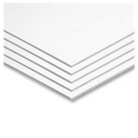 "Pacon® Value Foam Board, 20"" x 30"", White, 25/Carton"