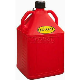 FLO-FAST™ 15 Gallon Polyethylene Gas Can, Red, 15501