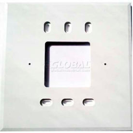 """PECO Wall Plate 69272,  4-11/16"""" X 4-11/16"""" For T170 Series - Pkg Qty 10"""