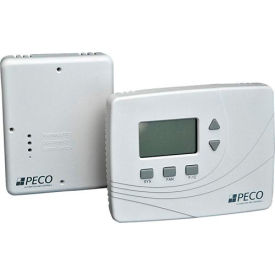 PECO Wireless Thermostat/ Receiver Kit, 3H/2C, 24 VAC