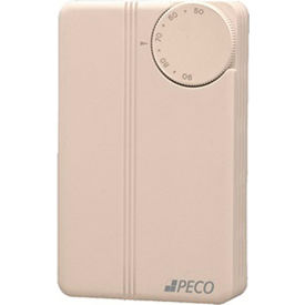 PECO Thermostat TB155-015 Auto Changeover, Heat/Cool, No Switch, 24-277VAC