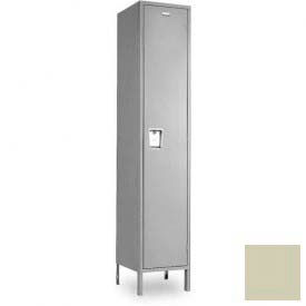"Penco 6E125-1W-KD-073 Guardian Defiant II Locker Single Tier 1 Wide, 15""W x 21""D x 60""H, Champagne"