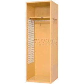 "Penco 6KFD01-722 Stadium® Locker With Shelf, 18""Wx18""Dx72""H, Patriot Red, Unassembled"