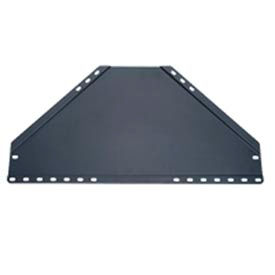 A/V Shelf For Corner Mount - Black