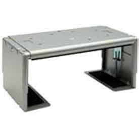 "DVD/VCR Mount For Designer Series - 17.25""W x 2.75""H - Silver"