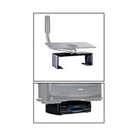 "DVD/VCR Mount For Designer Series - 17.25""W x 5.75""H - Black"