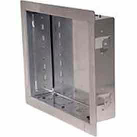 "In-Wall Box For Up to 40"" Flat Panel Screens - Gloss Silver"