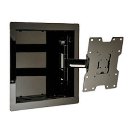 "In-Wall Mount For 22""-40"" LCD Screens w/ VESA Mounting Patterns - Gloss Silver"