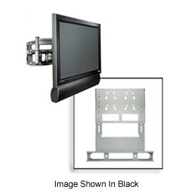 Multi-Channel Single Speaker Accessory For Flat Panel Mounts - Silver