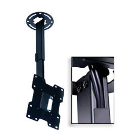 """Pro Universal Ceiling Mount For 15""""-37"""" Screens, 20""""-34"""" Extension - Black"""