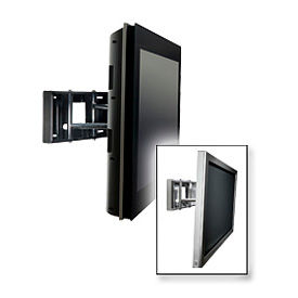 "Smartmount® Universal Pull-Out Swivel Mount For 32""-65"" Screens - Gloss Black"