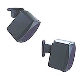 Universal Single Speaker Mount For Up To 20 Lb Speakers - Black