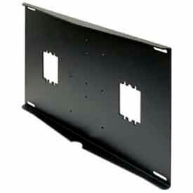 "Double Metal Stud Wall Plate w/ Electrical Knockouts - 16"" Centers"