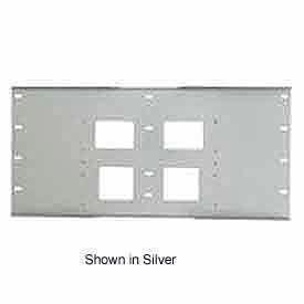 "Triple Metal Stud Wall Plate For PLA Series, 16"" Stud Centers - Gloss Black"