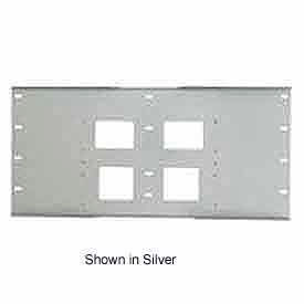 "Triple Metal Stud Wall Plate For PLA Series, 16"" Stud Centers - Black"