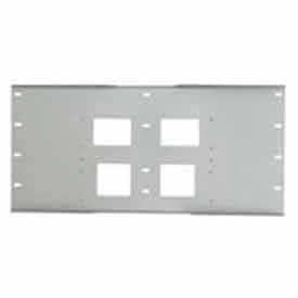 "Triple Metal Stud Wall Plate For PLA Series, 16""-24"" Stud Centers - Black"