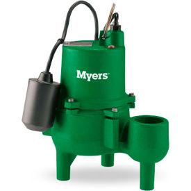 Myers SRM4 Series 4/10 HP Cast Iron Sewage Pump