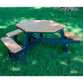 ADA Recycled Plastic Picnic Tables