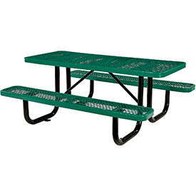 Expanded Metal Picnic Tables