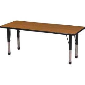 ECR4KIDS® - Rectangle Activity Tables - Chunky Leg Style