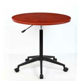 Adjustable Height Round Multi-Purpose Tables
