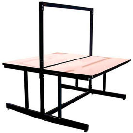 Single or Dual-Sided Expandable Adjustable Top Workbenches with Uprights