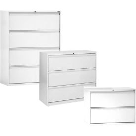 Sandusky 2, 3, 4 & 5 Drawer Lateral Files - Full Width Drawer Pulls