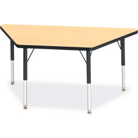 Trapezoid Shaped Child Height Activity Tables