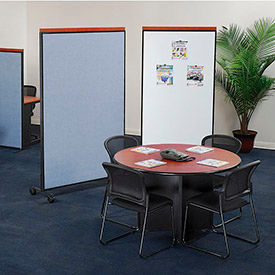 Interion® Mobile Partition Room Dividers