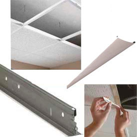 Grid Solutions For PVC Ceiling Tiles