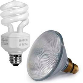 Shat-R-Shield Safety-Coated CFL Lamps