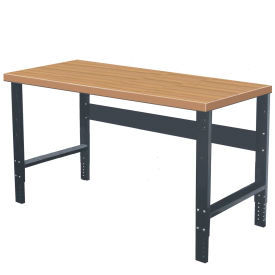 C-Channel Leg Adjustable Height Workbenches