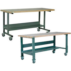 Stackbin C-Channel Adjustable Height Mobile Workbenches